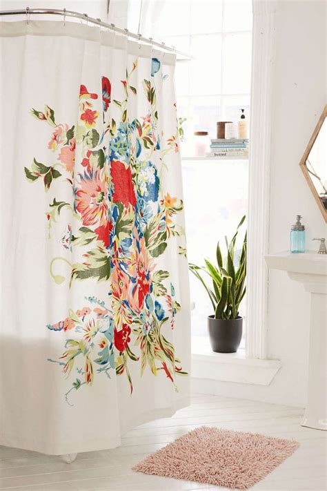 shower curtain flowers 17 best ideas about floral curtains on