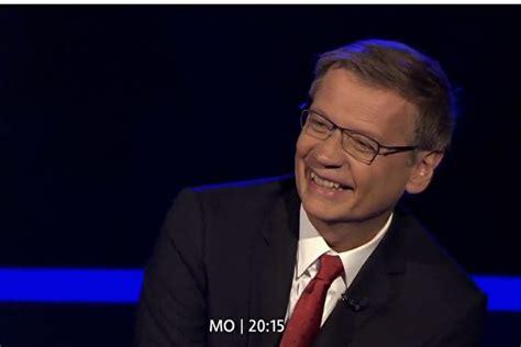"""Die erste einstiegsfrage ist mehr als geschenkt. Günther Jauch: """"Wer wird Millionär?"""" Live-Stream heute Mo ..."""
