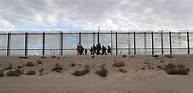 Shocking Video Shows Men Scaling New Border Wall That ...