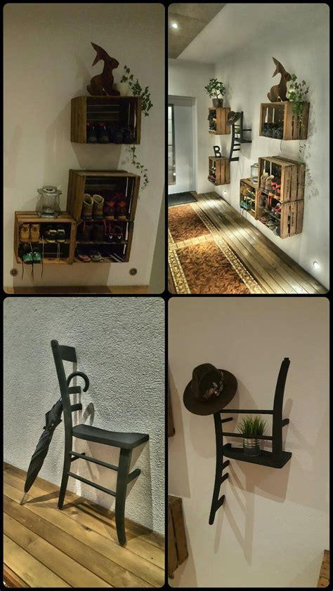 Garderobe Aus Weinkisten by Garderobe Aus Alten Weinkisten Wohn Design