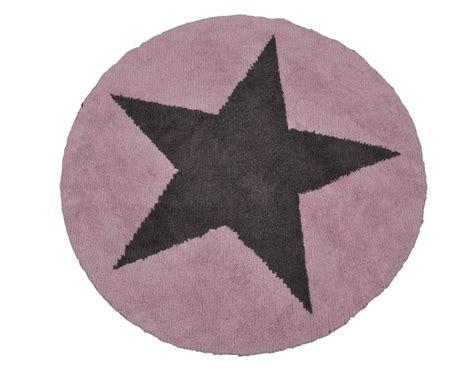 teppich rund rosa biokinder wende teppich rund mit rosa grau aus baumwolle canals