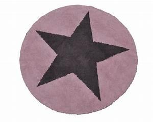 Teppich Grau Rosa : biokinder wende teppich rund mit stern rosa grau aus baumwolle lorena canals ~ Indierocktalk.com Haus und Dekorationen