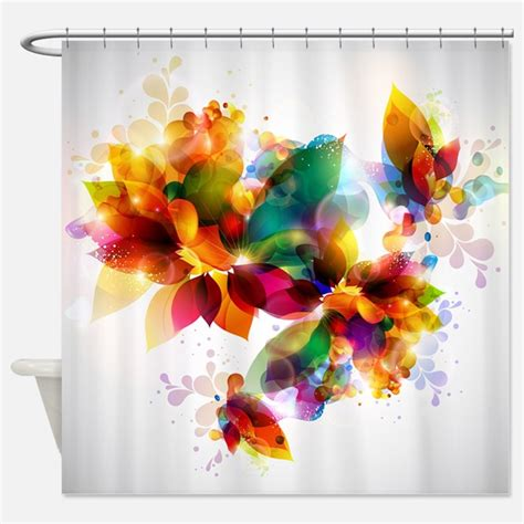 colorful shower curtains colorful shower curtains colorful fabric shower curtain