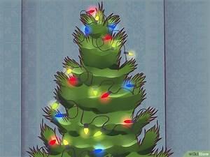 Lichterkette Weihnachtsbaum Anbringen : lichterketten am weihnachtsbaum aufh ngen wikihow ~ Markanthonyermac.com Haus und Dekorationen