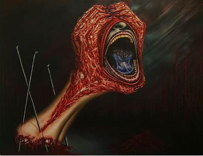 Creepy Blood Scary Horror Dark Wrath James