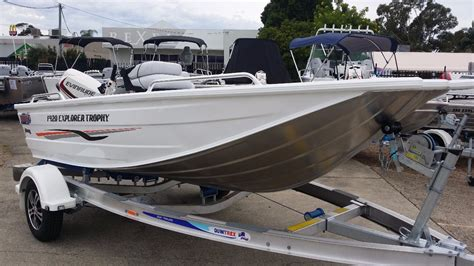 Trophy Boats Out Of Business by New Quintrex 420 Explorer Trophy Power Boats Boats
