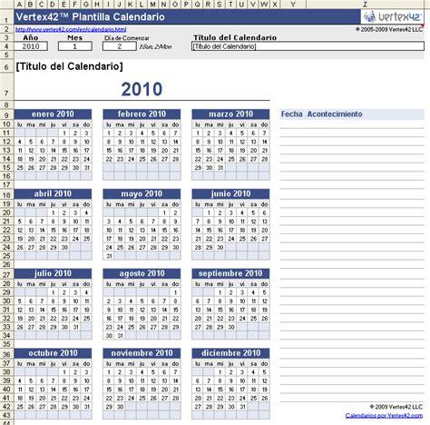 plantilla calendario gratis calendario ano imprimir