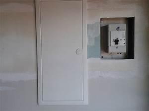 Porte Tableau Electrique : tableau lectrique encastr ~ Premium-room.com Idées de Décoration