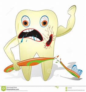 Unhealthy And Unfriendly Tooth Stock Photo - Image: 10286800
