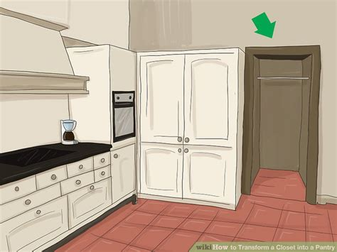 kitchen closet design how to transform a closet into a pantry 10 steps with 3358