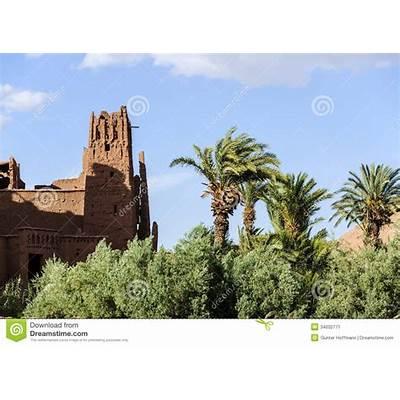 Morocco Draa Valley Kasbah Stock Image - Image: 34032771