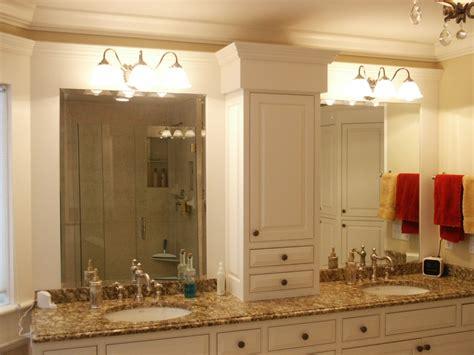 Master Bathroom Cabinet Ideas With Luxury Bathroom With