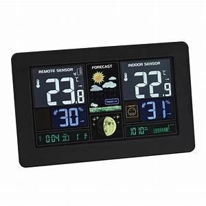 Station Meteo Sans Fil : clipsonic sl253 station m t o clipsonic sur ~ Dailycaller-alerts.com Idées de Décoration