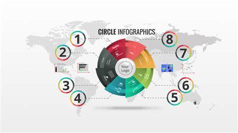 Circle Infographics Prezi Template | Prezibase