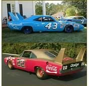 43 Richard Pettys Plymouth SuperBird Or 22 Bobby