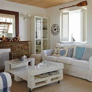 coastal interiors for living rooms housetohomecouk With beach living room decorating ideas