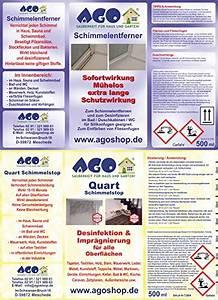 Anti Schimmel Mittel : ago schimmelentferner set 5tlg heiztechnik und haustechnik ~ Frokenaadalensverden.com Haus und Dekorationen