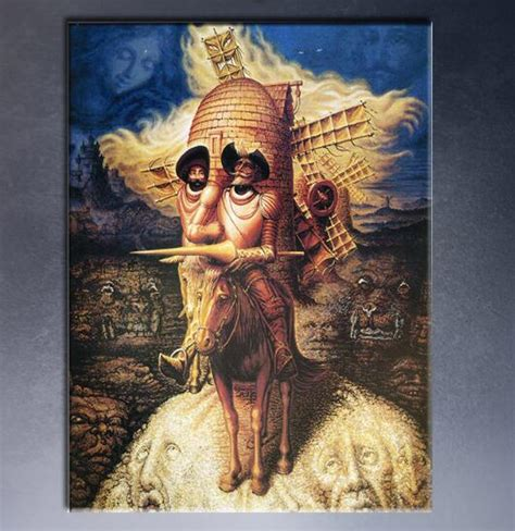 visions  quixote  mexico artist octavio ocampo art