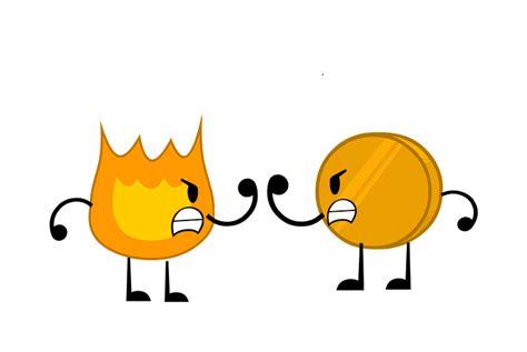 Firey And Coiny By Igoresha09 On Deviantart
