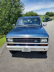 1984 Ford Bronco II SUV Blue 4WD Automatic for sale - Ford Bronco II 1984 for sale in ...