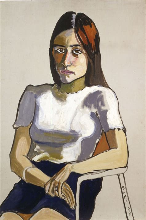 nancy neel alice paintings painting selvage 1966 portraits 1968 drawing hambling maggi richard figure comments figurative illustration olio dell museum