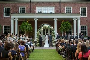 Lovely ceremony for Mallory and Sam at the Dixon Gallery ...