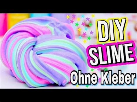 fluffy slime selber machen ohne kleber 3 diy schleim rezepte ohne kleber i diy slime without glue