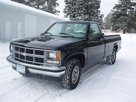Sell Used 1996 Chevrolet Ck 1500 Pickup Truck In Pine