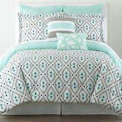 mint and gray black comforter set bedding ideas