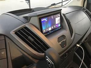 Van Conversion  Ford Transit Stereo Installation