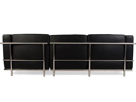 Le Corbusier Corner Sofa by Lc2 Le Corbusier Corner Sofa Black