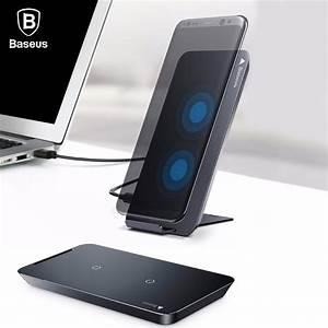 Iphone 8 Plus Wireless Charging : baseus wireless charger for iphone x 8 plus samsung note 8 ~ Jslefanu.com Haus und Dekorationen