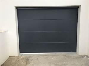 Porte De Garage Gris Anthracite : porte de garage alliance menuiserie monfraix ~ Melissatoandfro.com Idées de Décoration