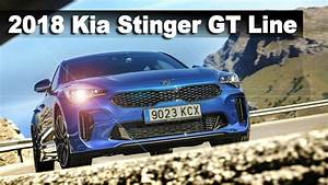 Kia Stinger Gt Line : all new 2018 kia stinger gt line micro blue 2 2 crdi awd 200 hp youtube ~ Medecine-chirurgie-esthetiques.com Avis de Voitures