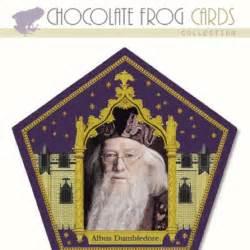 harry potter et la chambre des secret en chocolate frog cards harry potter albus