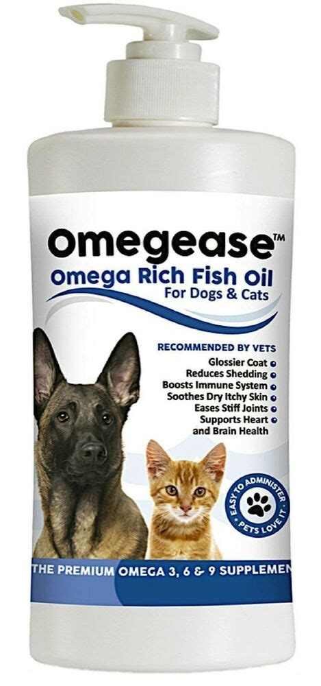 pure omega    fish oil  dogs  cats  oz