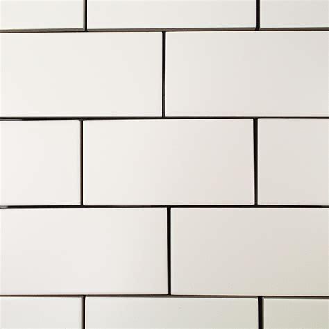 basic  white matte ceramic tile