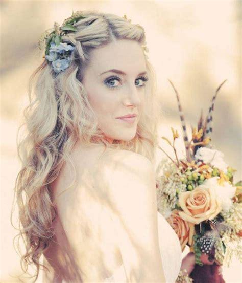 hair wedding style bohemian wedding hairstyles for hair happyeverafter 8362