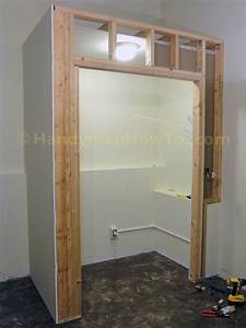 Building A Basement Bedroom Closet  Drywall And Electrical