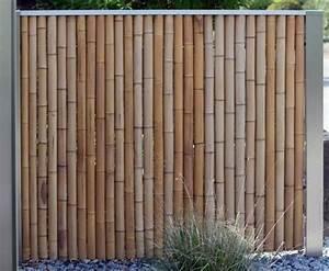 Schöner Sichtschutz Für Den Garten : bambus sichtschutz sch n und ko freundlich ~ Sanjose-hotels-ca.com Haus und Dekorationen