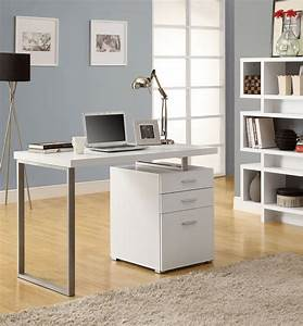 Modern White Computer Desk Type Thediapercake Home Trend Marvelous Modern White Computer Desk