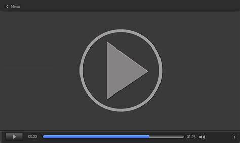 Image Vectorielle Gratuite Lecteur Vidéo De Vecteur