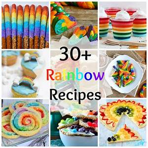 30+ Magical Rainbow Recipes! - What Jew Wanna Eat