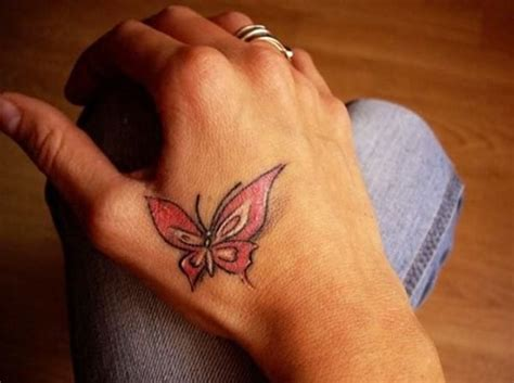 butterfly tattoo  hand  girls creativefan