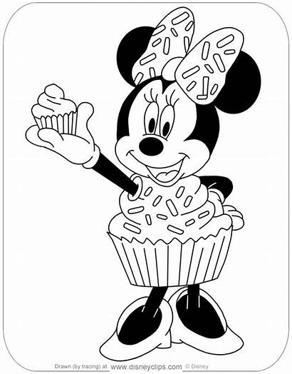 Coloring Halloween Disney Minnie Mouse Disneyclips Pdf