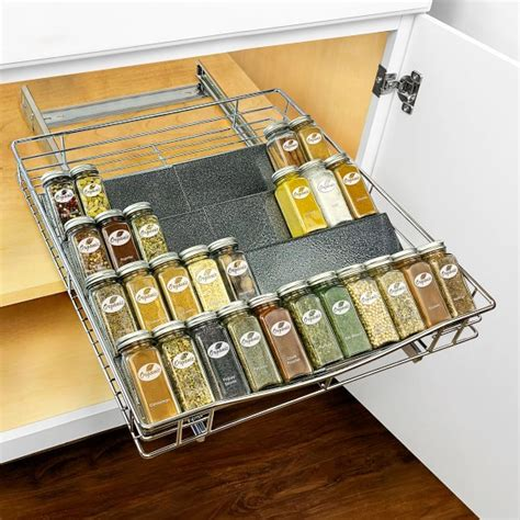 Williams Sonoma Spice Rack by Slide Out Spice Rack Tray Williams Sonoma