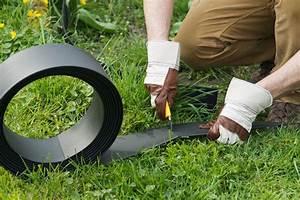 Bordures Pour Jardin : bordure jardin plastique h 9 cm x 15 m noire ~ Dode.kayakingforconservation.com Idées de Décoration