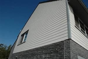 Bardage Bois Bricoman : bardage plastique rev tements modernes du toit ~ Melissatoandfro.com Idées de Décoration