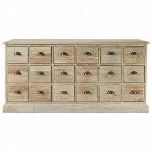 Maison Du Monde Bahut : cassettiera in legno riciclato l 170 cm lausanne maisons du monde ~ Teatrodelosmanantiales.com Idées de Décoration