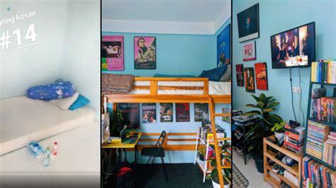 ide menyulap kamar kos ukuran  ala atcandraaditya jadi  cukup tapi tetap artistik